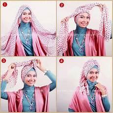 Cara Memakai Jilbab Segi Empat Sederhana Tapi Cantik