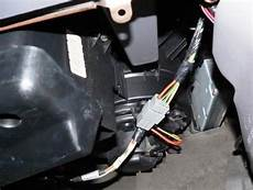 solved where is the heater blower motor resistor located fixya