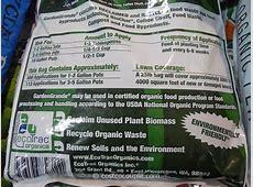 EcoTrac Organics Garden Grande Organic and Natural Fertilizer