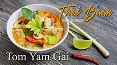 tom yam gai rezept tom yam gai h 252 hnchensuppe mit galgant thai