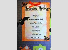 Mama's Crafts: Ghoulish Halloween Dinner Party
