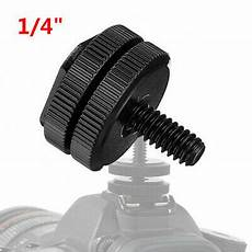 Inch Dual Thumb Flash Cold by 1 4 Quot Dual Thumb Flash Cold Shoe Adapter