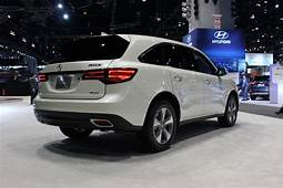 2016 Acura MDX Rear View  New Autocar Review