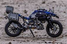 lego technic bmw r 1200 gs features a specially designed