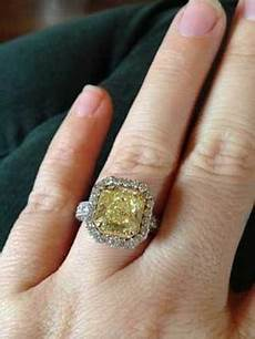 can an engagement ring be too big yellow engagement rings yellow diamond engagement ring