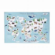 maisons du monde carte des aventuriers 55x80mappemonde