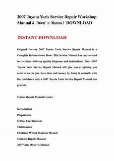 2007 toyota yaris service repair workshop manual owen 180 s manual download by jshfjsnnef issuu