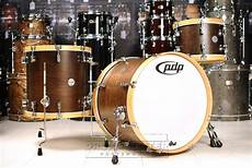 pdp maple concept pdp concept maple classic 3pc drum set 22 13 16 tobacco w wood hoops