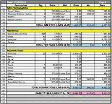 Kosten Hausbau Rechner - new construction punch list template excel