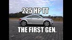 collector car audi tt 225 hp 8n mk1 review testdrive