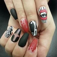 6 best easy charming diy halloween nail art design