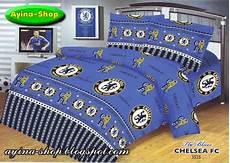 Harga Sprei Merk Chelsea sprei panca ayina shop motif bola