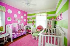 Bedroom Ideas Green And Pink by Pink And Green Room Stripes And Polka Dots Green