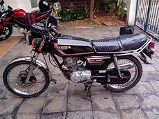 Honda Gl 100 Modif by Modifikasi Motor Honda Gl 100 Keren Dan Unik Otomotiva