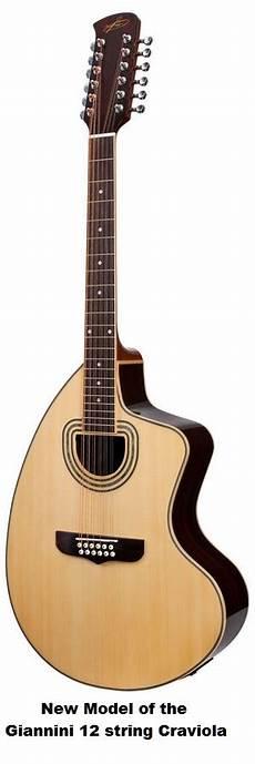 The Unique Guitar Giannini Craviola 12 String