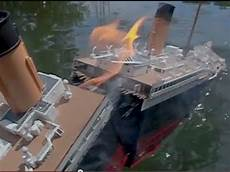 titanic splits 1 high angle breakup sinking youtube
