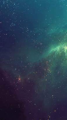 fantasy shiny starry green nebula starry space skyscape iphone 8 wallpapers free download