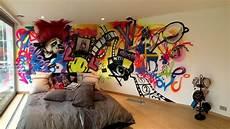 Gambar Desain Kamar Tidur Graffiti Properti Indonesia