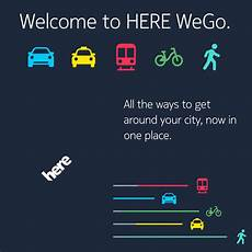 Here Wego App - herewego say hello to the new here app geoawesomeness