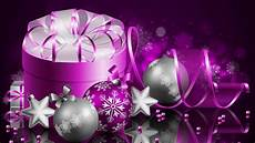merry christmas a happy new year purple gift box wallpaper hd for desktop 1920x1200