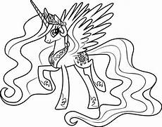 princess celestia coloring pages my pony coloring