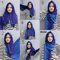 Memakai Pashmina Yang Simple Style Fashion Muslimah