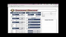 d d 4 beginners ep 1 how to download a character sheet