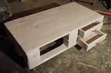 pallet table 2 two floors improved drawer slides