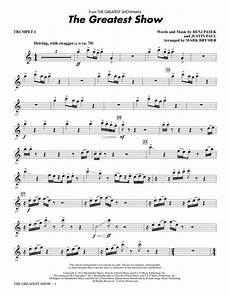 the greatest show trumpet 1 sheet music direct