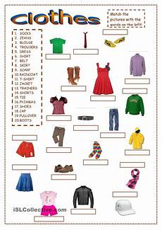 worksheets clothing 18811 clothes ex1 clothes gor clothes and class