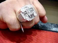 custom diamond ring big rocks 1 mpg youtube