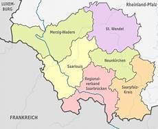 Liste Der Landkreise Im Saarland