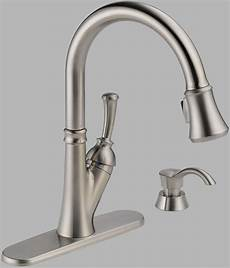 delta savile kitchen faucet kitchen delta savile single handle pull kitchen faucet with soap dispenser cheap price