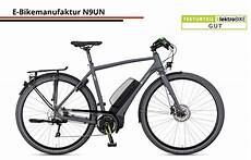 elektrobike test e bikemanufaktur n9un testurteil gut