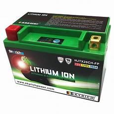 erage batterie moto batterie lithium hjtx20ch ytx20ch bs skyrich 12v