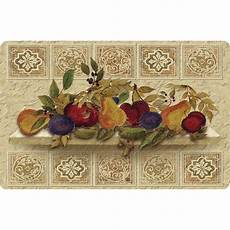 Kitchen Area Rugs With Fruit by Apache Mills Fruit Still Cushion Comfort 22 In X 34
