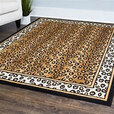 Animal Print Area Rugs contemporary leopard skin animal print area rug modern