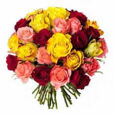 bouquet 30 roses multicolores bouquet roses pas ch 232 res