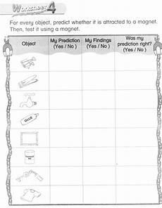 science worksheets magnets 12297 science magnet worksheets