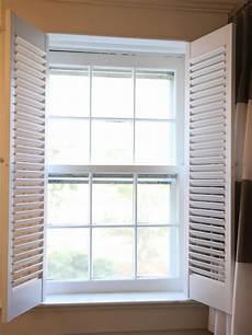 Fenster Rolladen Innen - how to install interior plantation shutters how tos diy