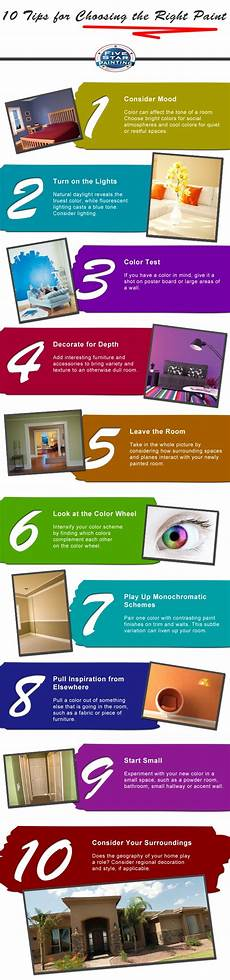 10 tips for choosing the right paint
