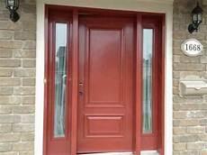 porte d entrée en metal peinture de porte exterieure en acier victoriaville