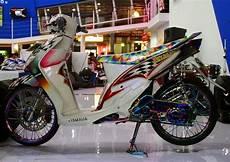 Variasi Motor Mio by 6 Variasi Modifikasi Motor Mio Terbaru Variasi Motor