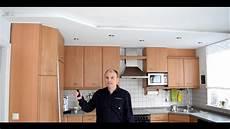 wie streiche ich meine küche projekt k 252 che renovieren decke umgestalten teil 3