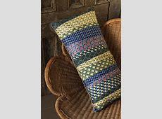 Necktie Pillow · Extract from Scraps by Vera Vandenbosch