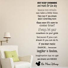 Be More Disney Saying Wall Quote Sticker Decal Vinyl