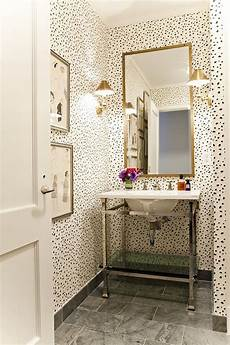 Wallpaper For Bathroom Ideas Small Powder Room Ideas Interiors