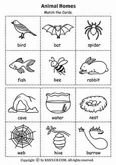 animals and their habitat worksheets for kindergarten 14167 animals and their babies worksheets for kindergarten pdf kidz activities