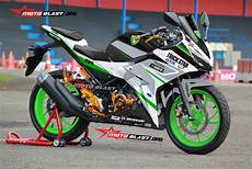 Modifikasi Striping All New Cbr150r modifikasi striping new cbr150r white trickstar