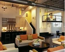 Traumhaus Modern Innen - contemporary loft design with mid century modern interiors